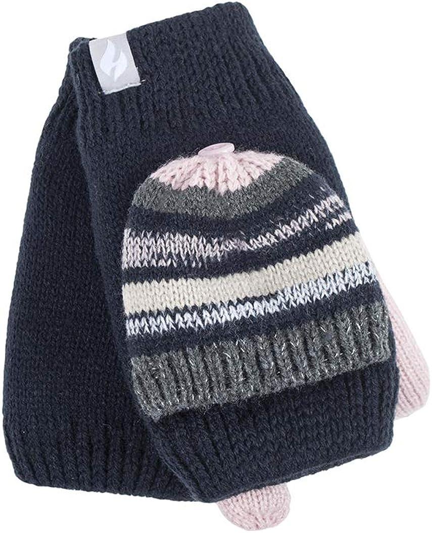 Ladies Converter Heat Holders Heatweaver Thermal Winter Warm Mitt Mitten Gloves