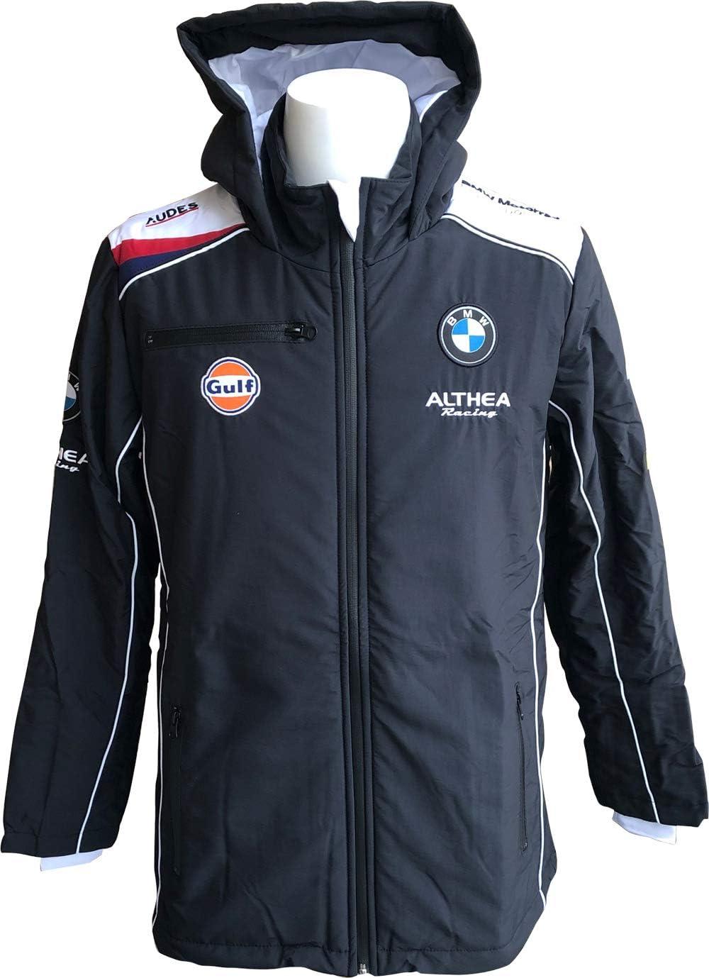 [ BMW ] Althea Gulf BMW ガルフ モータースポーツ オフィシャル フーデッドジャケット  Medium
