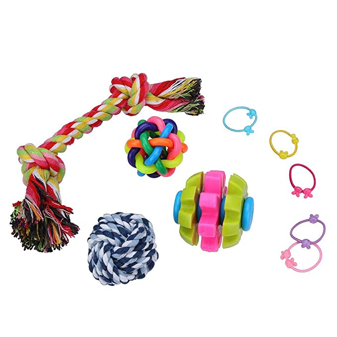 Amazon.com : Best Quality 4 pcs pet Dog cat Toys Variety Pack Funny cat Mouse sisal Baby cat Love Toy Set Knot Ball Grinding Teeth Cleaning Tools 2019 : Pet ...