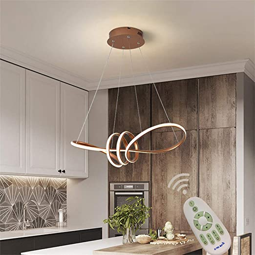 Modern LED Chandeliers Kitchen Island Dining Table Pendant ...