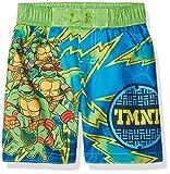 ninja turtles boys bathing suit - Nickelodeon Toddler Boys' TMNT Swim Trunk, Seafoam Green, 2T
