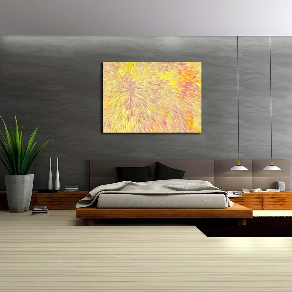 Pitaara Box Abstract Canvas Artwork 1 Unframed Canvas Abstract Painting 49.9 x 36inch 7c7398