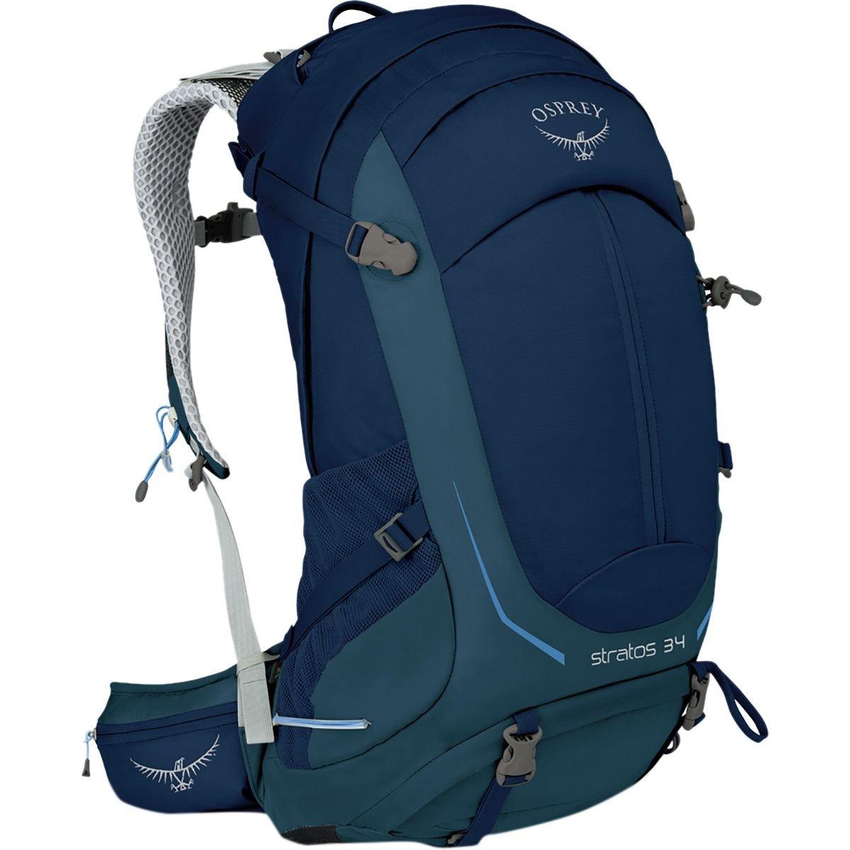 [オスプレーパック] メンズ バックパックリュックサック Stratos 34L Backpack [並行輸入品] B07BWBZD94  Medium / Large