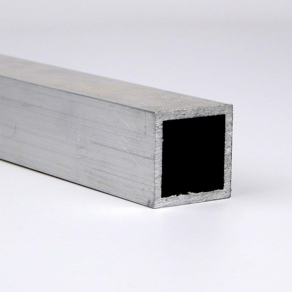 ASTM B221 Mill 3 Width Extruded Temper 72 Length Unpolished 2.509 Leg Lengths 6061 Aluminum I-Beam Finish 0.17 Wall Thickness Equal Leg Length Rounded Corners