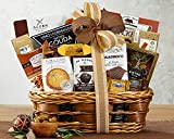 Wine Country Gift Basket Bon Appetit Gourmet Food Gift Basket Perfect Gift Chocolate Ghirardelli Godiva Brownie Brittle Snack Mix Cookies Snack Filled...