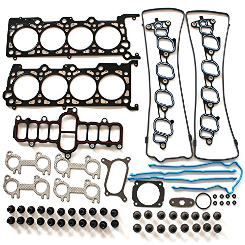 Full Sohc Kit Gasket (SCITOO Replacement for Full Gasket Kits fit Ford F-150 E-150 Econoline Crown Victoria 4.6L VIN W Automotive Engine Full Gaskets Sets)