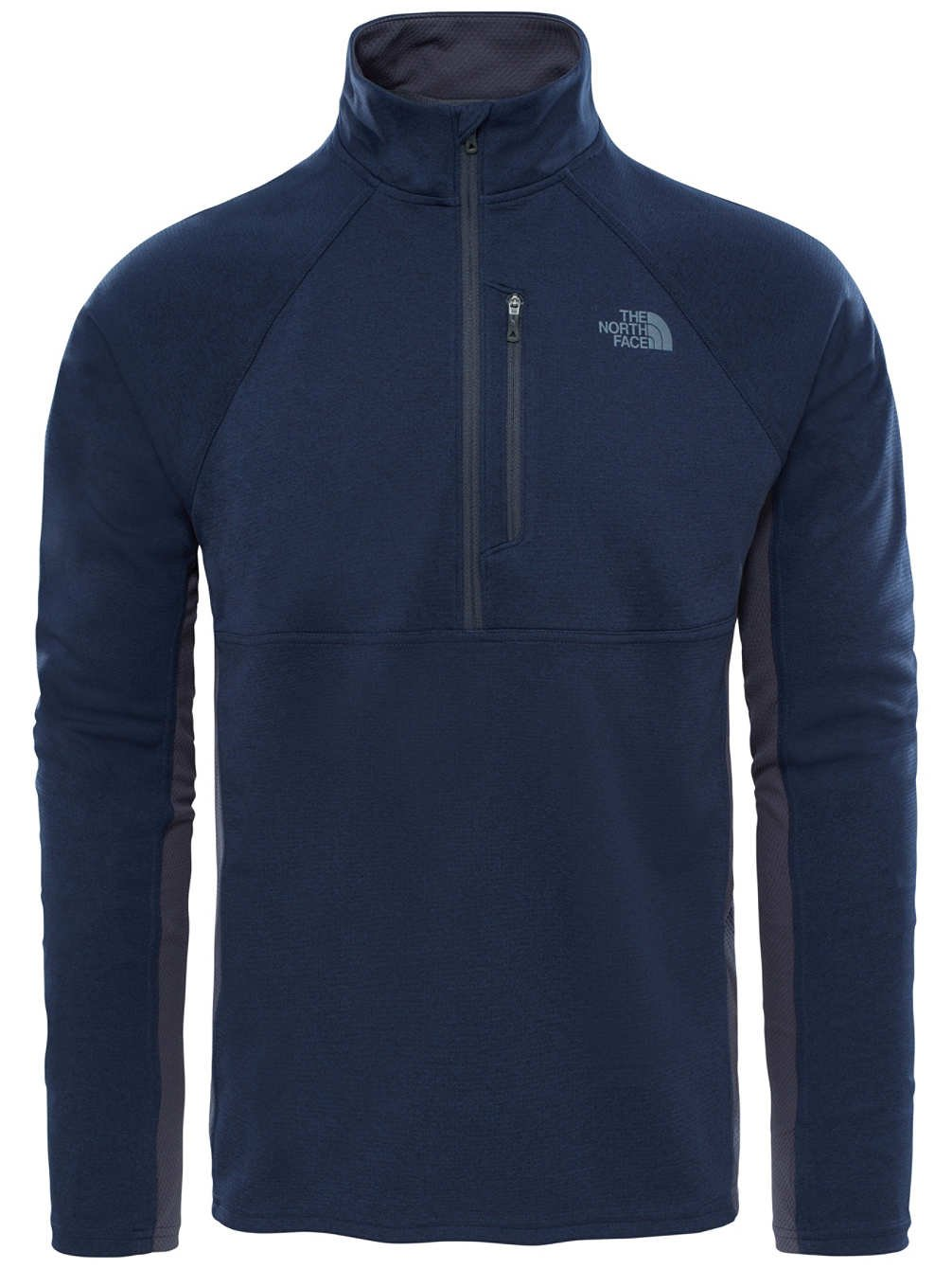 The North Face, M Ambition 1/4 Zip, Maglia a Maniche Lunghe con Cerniera 1/4, Uomo 2TZL