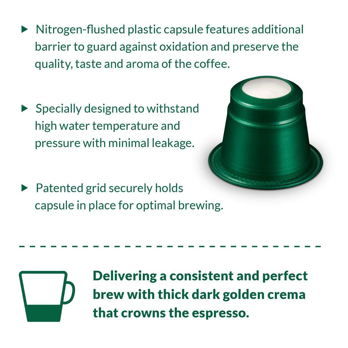 Café La Llave Espresso Capsules, Intensity 11 (80 Pods) Compatible with Nespresso OriginalLine Machines, Single Cup Coffee by Cafe La Llave (Image #2)