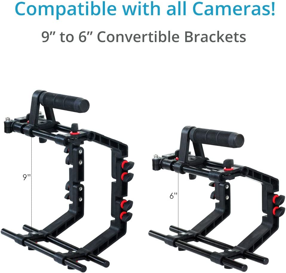 FILMCITY DSLR Camera Cage Shoulder Rig Kit FC-02