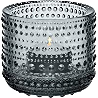 iittala (Iittala) Kastehelmi votive candle holder gray 64mm