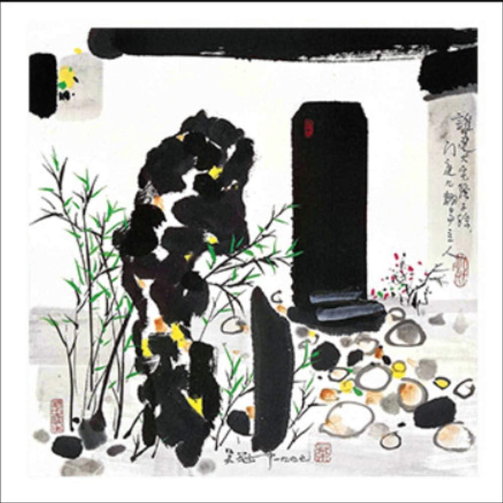 diy oil painting paint by number kit,Cuadro abstracto camino de adoquines lienzo pintura negra tinta blanca china minimalista pared arte cartel moderno decoración del hogar para sala de estar(50X50CM)