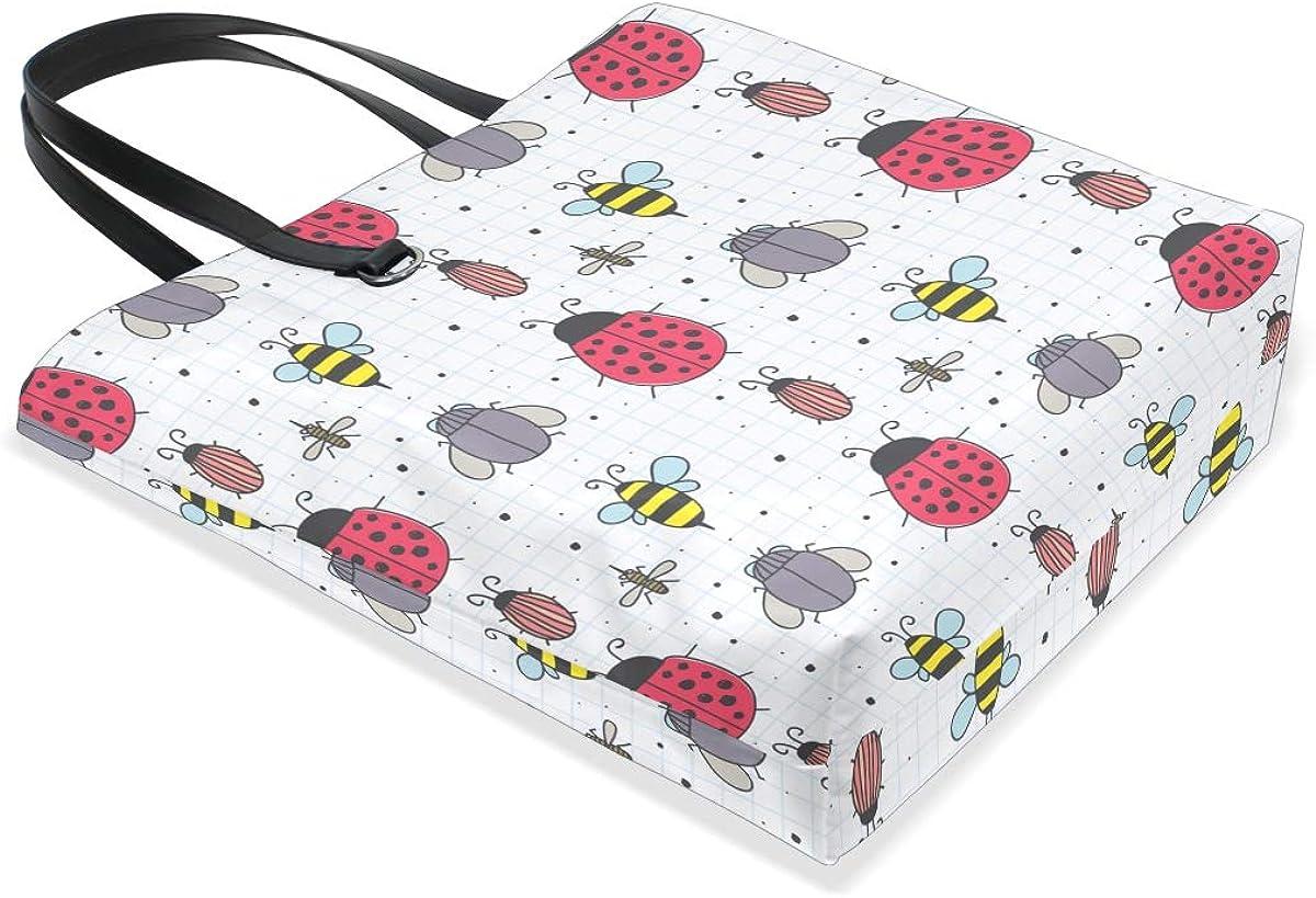 FANTAZIO Handbag Shoulder Bug Pattern Shoulder Handbag