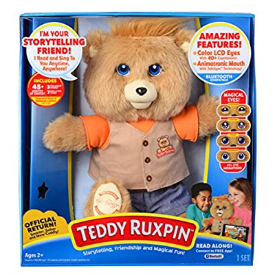 Teddy Ruxpin - Official Return of the Storytime and Magical Bear: Wicked Cool Toys: Toys & Games