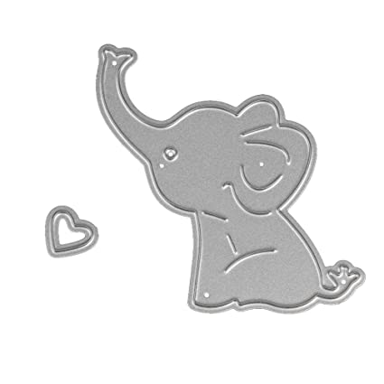 photograph regarding Printable Elephant Stencil known as : Stencil ZTY66, Steel Boy or girl Elephant Slicing Dies