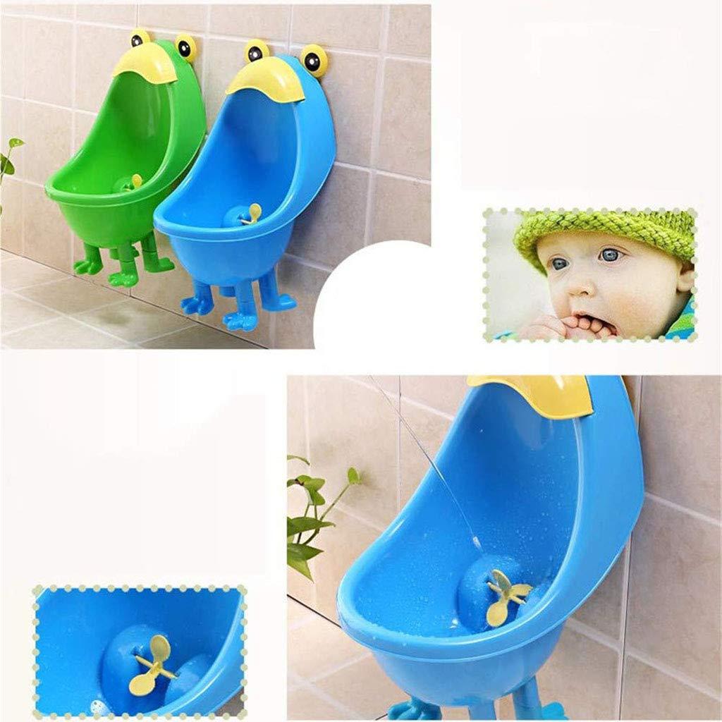 PDDSZ WC Kinder Wand-Mounted Urinal Stehtoilette f/ür Jungen,Blue,21x23x35cm