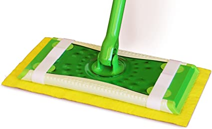 Works with Swiffer and ReadyMop Heads 3-Pack of Reusable Microfiber Mop Pads Washable /& Durable