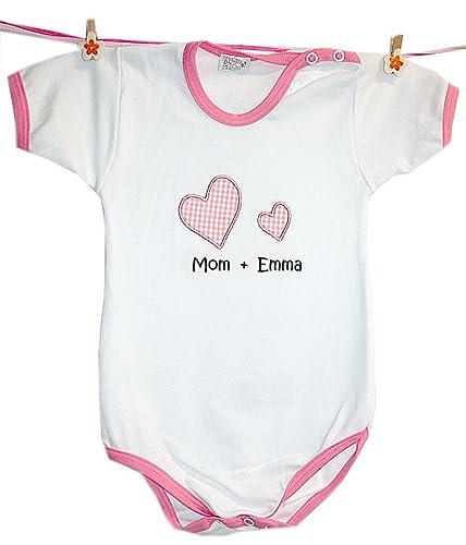 verschiedenes Design moderate Kosten weltweite Auswahl an Zigozago - Baby body personalised romper