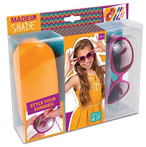 Style Me Up - Weaving DIY Sunglasses Kit, Creative Craft Set for Kids, Bling Birthday Gift for Girls - SMU-313