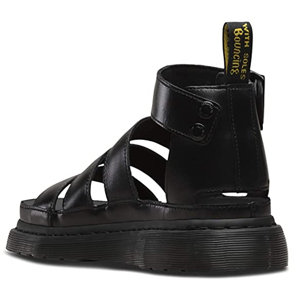 95fa2f7a43 Amazon.com | Dr. Martens Womens Clarissa II Platform Strappy Cut Out Open  Toe Sandals | Sandals