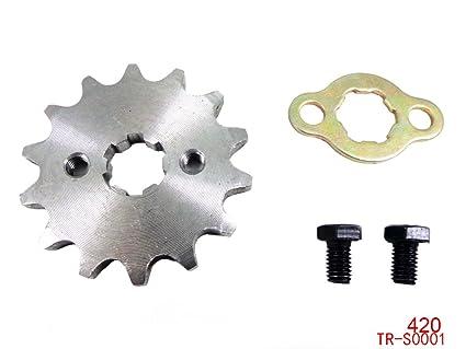 Engine Chain Sprocket 420 14 Teeth for 50cc 90cc 110cc 125cc Chinese ATV  Dirt Bike Quad TaoTao Roketa Sunl