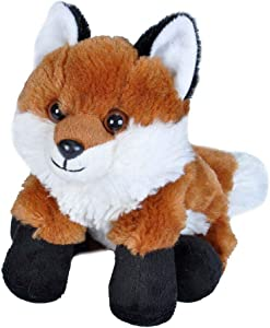 Wild Republic Red Fox Plush, Stuffed Animal, Plush Toy, Gifts for Kids, Hug'Ems 7