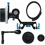 Fotga Upgraded DP500 Mark III Dampen Follow Focus for 15mm Rods Rig Fit for All DSLR Video Cameras Blackmagic BMCC BMPCC 5DIII 5DIV Sony A7R A7S A7SII GH3 GH4 D500