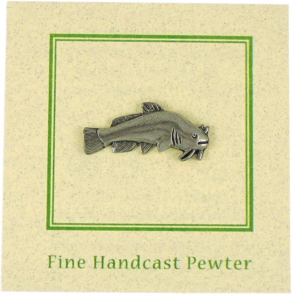 Jim Clift Design Catfish Lapel Pin