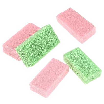 B Baosity 5 Pedazos Piedra Pómez en Cuidado de Pies para Quitar Pies Exfoliante de Piel