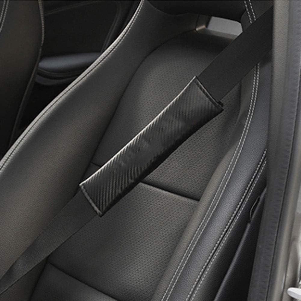 Kohlefaser Autositzgurtpolster Gep/äCk Schulterpolster F/üR EIN Komfortableres Fahren CMHZJ 2 St/üCk Gurtpolster Gurtschoner F/ür Nissan