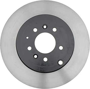 ACDelco 18A2546AC Advantage Coated Rear Disc Brake Rotor