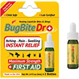 BugBiteDr Insect Bite Relief Oil - Healing Liquid Gel for Bites & Stings - Lab Tested Instant Relief from Itching & Pain…