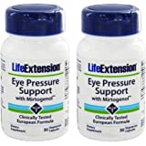 Life Extension Eye Pressure Support with Mirtogenol 30 Vcaps (Pack of 2)