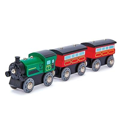 Hape Railway Steam-Era Passenger Train: Toys & Games