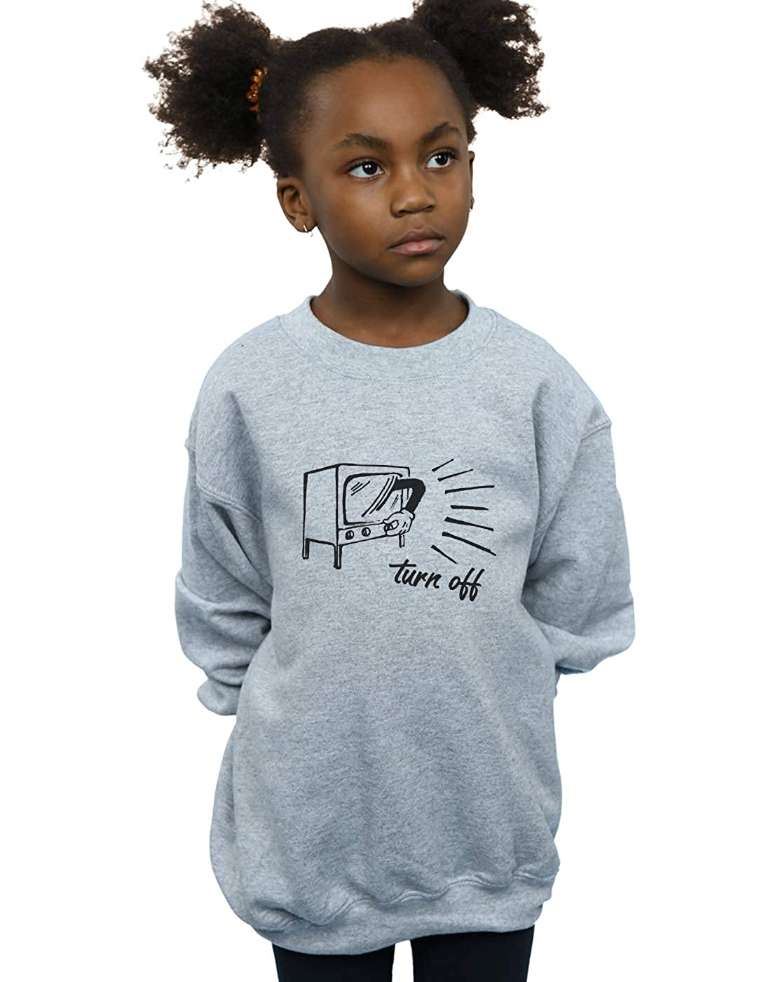Drewbacca Girls Turn Off Mickey Sweatshirt