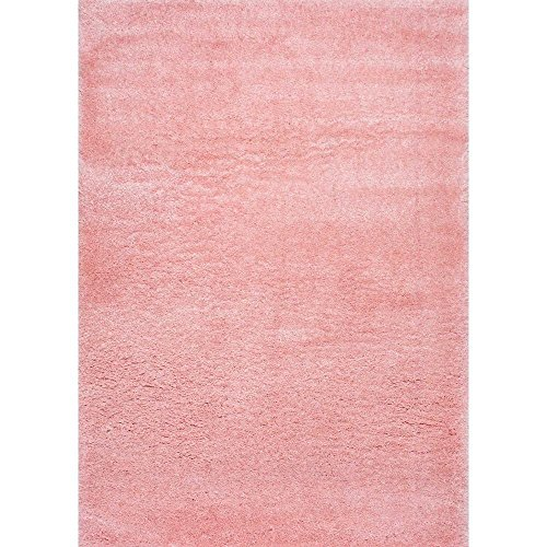 Amazon.com: Soft & Plush Nursery Solid Baby Pink Kids Shag
