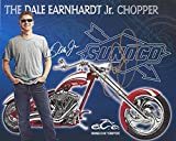 AUTOGRAPHED 2007 Dale Earnhardt Jr. #8 Budweiser Racing ORANGE COUNTY CHOPPERS Rare Signed Picture 8X10 NASCAR Hero Card with COA