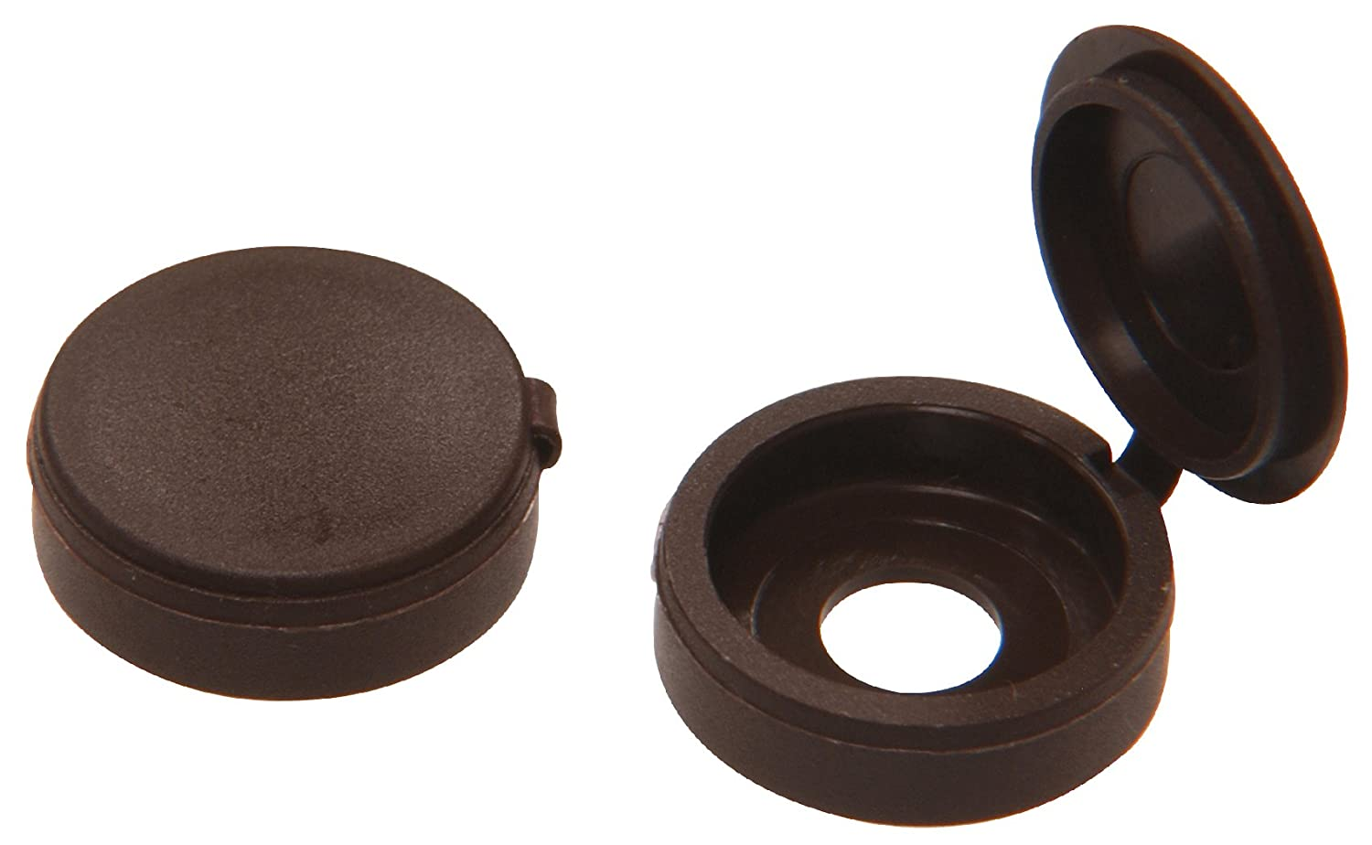 The Hillman Group 59053 Hinge Screw Cover Brown 8-Pack 1//4-Inch