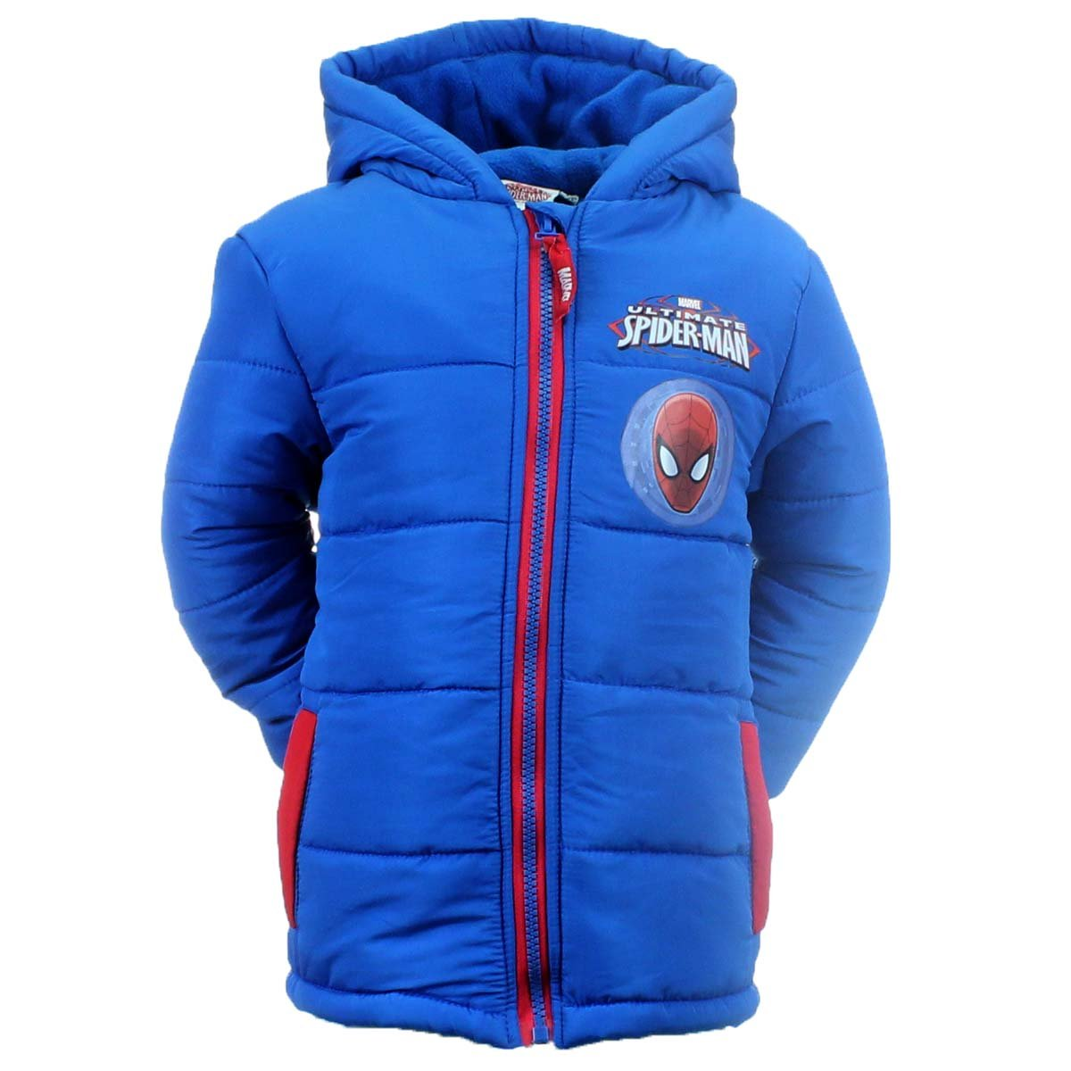 Spiderman Boys Winter Jacket Jacket Blue Light Blue