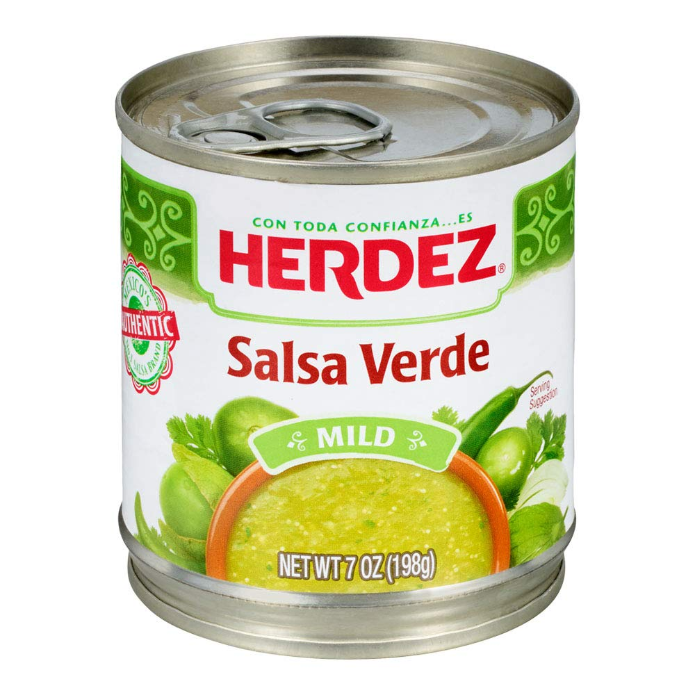 Herdez Salsa Verde, Mild, 7 oz