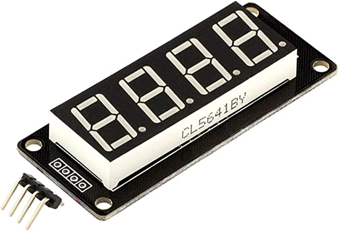 Red 0.56/'/' Inch TM1637 4Bit Digital LED 7 Segment Clock Tube Display For Arduino