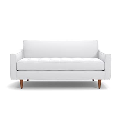 Amazon.com: Apt2B Monroe Apartment Size Sofa, White, 56