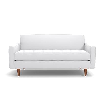 Amazon.com: Apt2B Monroe Apartment Size Sofa, White, 56\