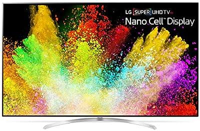 LG Electronics 65SJ9500 65-Inch 4K Ultra HD Smart LED TV (2017 Model) (Certified Refurbished)