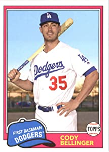2018 Topps Archives #250 Cody Bellinger Los Angeles Dodgers Baseball Card