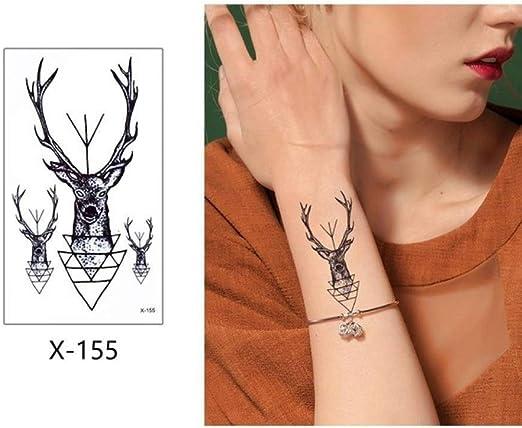 adgkitb 5 Piezas Colorido Tatuaje Temporal Pegatina Falso Tatuaje ...