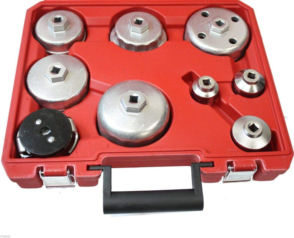 9PC Comprehensive Oil Filter Wrench Valve Collet Installing Pick Up Tool M76618