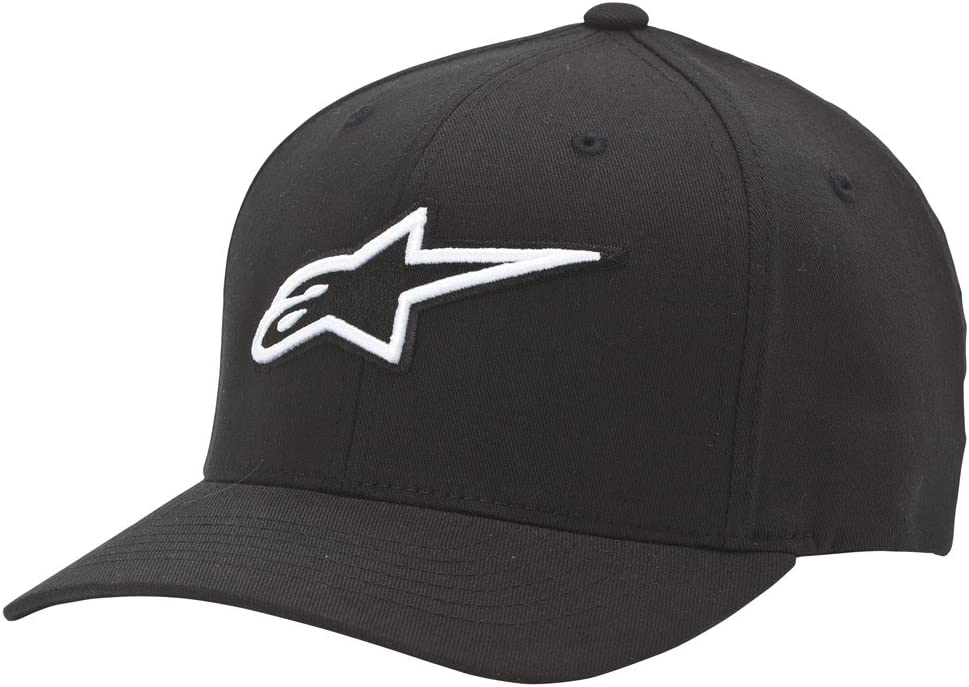 Alpinestars Corp Shift 2 Curved Bill Flexfit Cap Casquette 2018-Noir Motocross