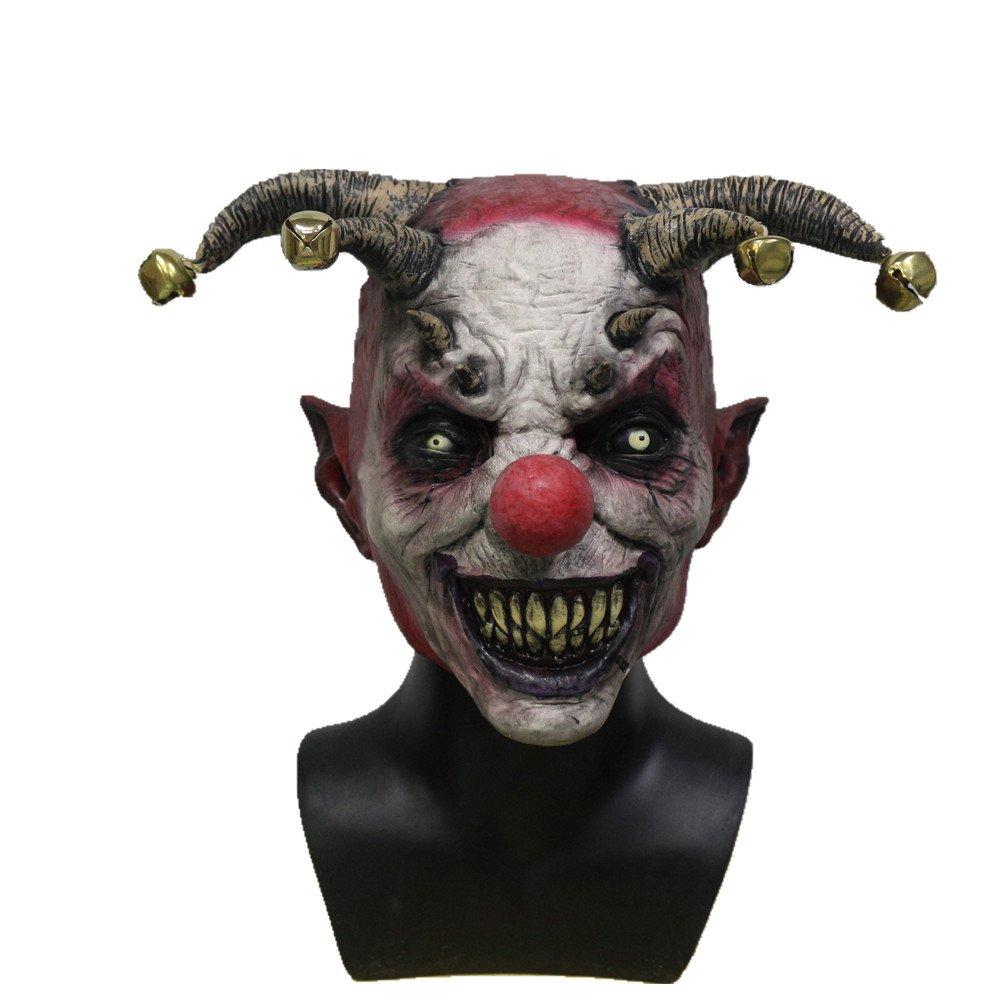 Máscara de payaso demoníaco