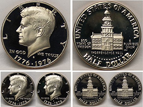 - 1976-S - GEM CLAD PROOF - KENNEDY HALF DOLLAR
