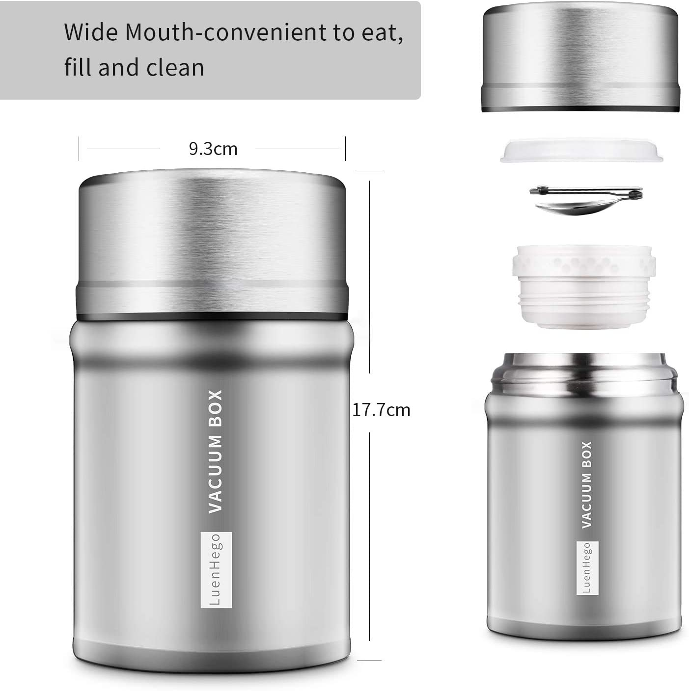 Insulated Food Jar Lunch Container